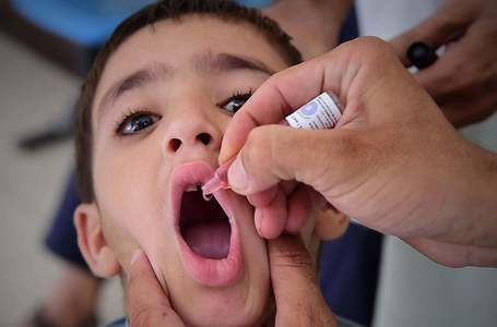 Polio campaign resumes in Punjab on 20th