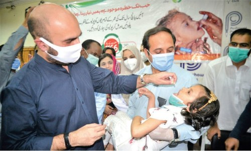 Anti-polio campaign kicks off in S. Waziristan tomorrow