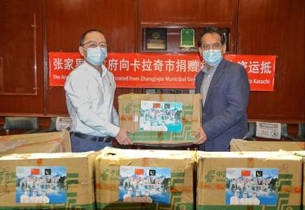 Mayor of Chinese city sends 20,000 face masks for Karachiites