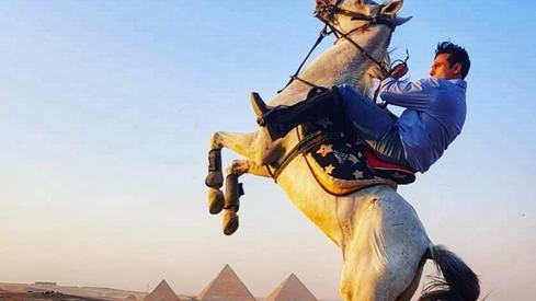 Haroon reveals how he got Mahbooba to be shot at the Egyptian pyramids