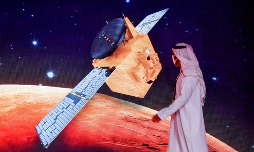 In pictures: First Arab space mission to Mars launches from Japan