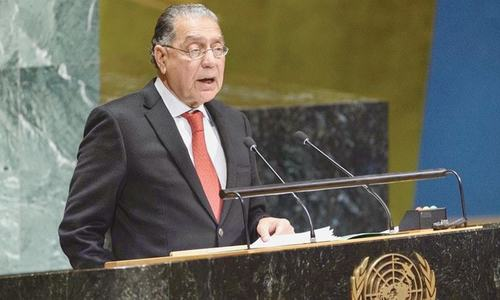 Pakistan elected president of UN Economic and Social Council for the sixth time