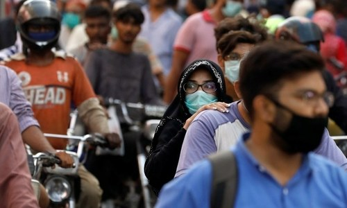 SITUATIONER: Virus may have peaked, but danger still lurks
