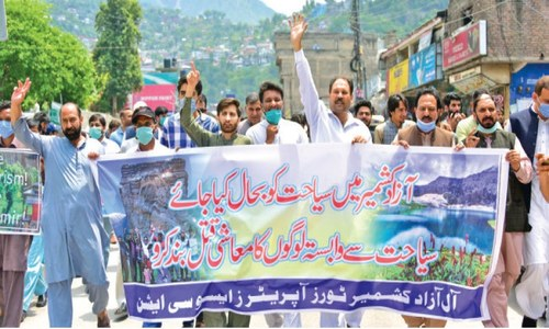 AJK tourism industry urges govt to ease restrictions