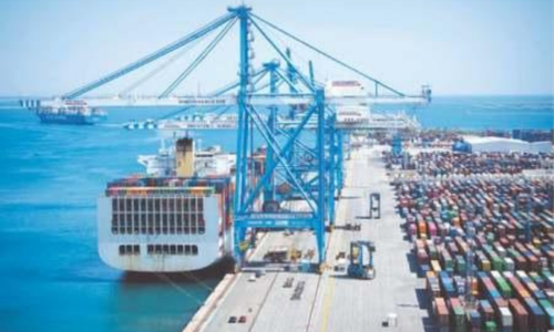 DP World's container volume drops 9pc in second quarter