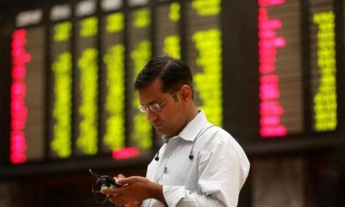Stocks jump 406 points on positive macros