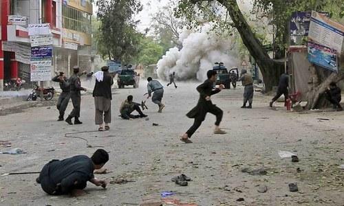 افغانستان: جیل پر نامعلوم افراد کا حملہ، 20 افراد زخمی