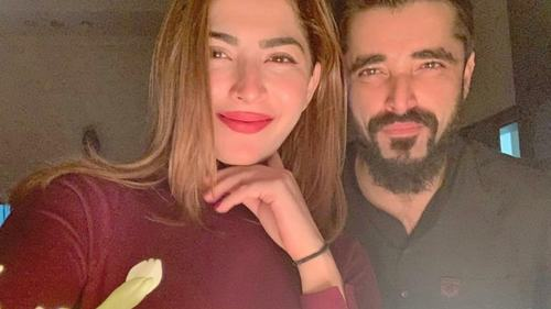 Hamza Ali Abbasi and Naimal Khawar welcome baby boy