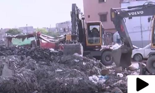 کراچی کے نالوں کو صاف کرنے کیلئے این ڈی ایم اے نے کام شروع کردیا