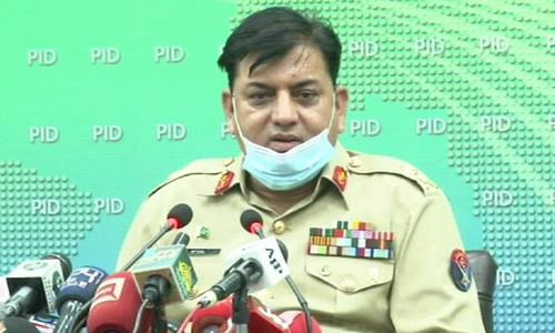 NDMA chief urges consensus to address Karachi issues