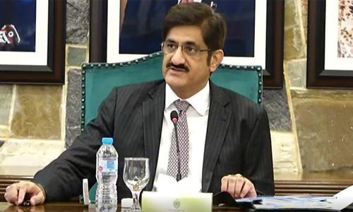 Murad rules out imposition of Article 149 in Karachi