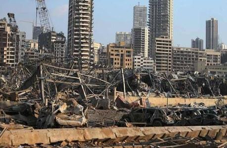 Massive blast in Beirut kills at 10 dead, sending shockwaves across city