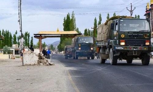 لداخ تنازع: بھارت نے چین کے جواب میں بھاری نفری تعینات کردی