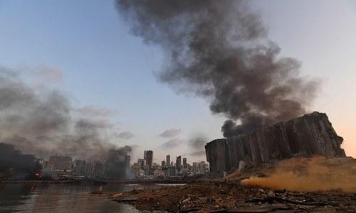 بیروت دھماکا: امونیم نائٹریٹ نے لبنان کو کیسے خون میں نہلادیا