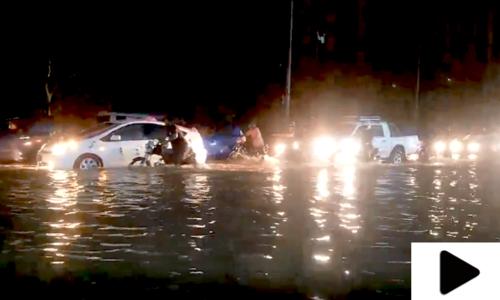 کراچی میں مون سون کے چوتھے اسپیل کی دھواں دار انٹری