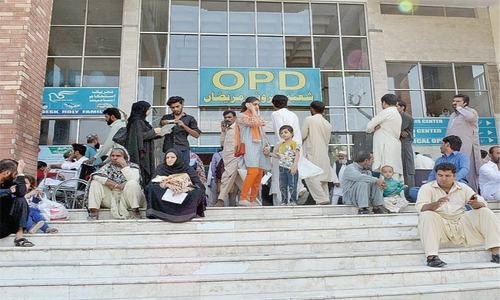 KP dept asks hospitals to reopen OPDs on limited scale