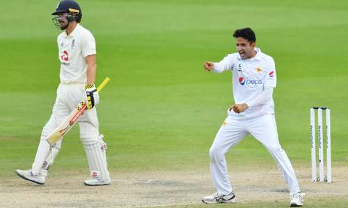 Abbas strikes for Pakistan after Yasir runs riot against England