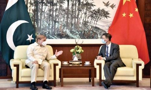 PML-N president meets Chinese envoy