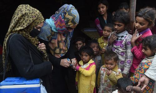 Pakistan's 'other' frontliners: Lady health workers and polio vaccinators