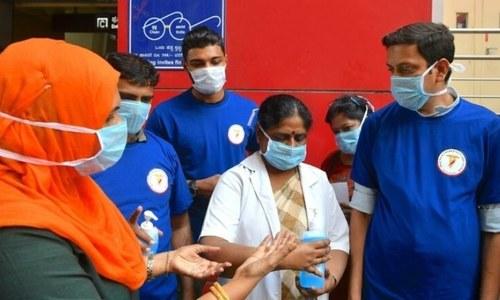 بھارت: کورونا کے مرکز میں آتشزدگی سے 11 افراد ہلاک
