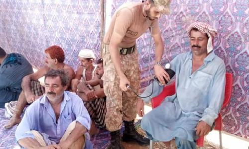 سندھ: پاک فوج امدادی کاموں میں مصروف، کئی افراد محفوظ مقام پر منتقل