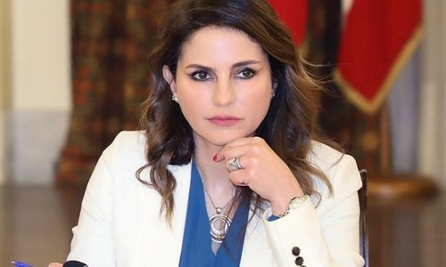 سانحہ بیروت پر لبنان کی وزیر اطلاعات کی عوام سے معذرت، عہدے سے مستعفی