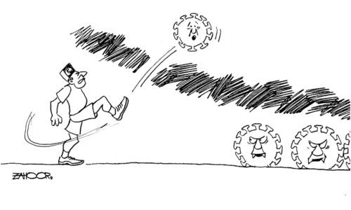 Cartoon: 10 August, 2020