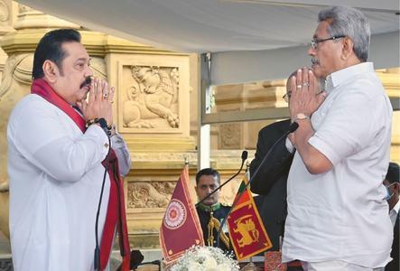 Rajapaksa sworn in as Lankan PM, cementing family rule
