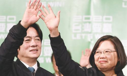 Highest-level US visit to Taiwan in decades
