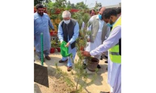 CM inaugurates Tiger Force Tree Plantation Drive