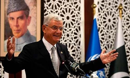 کشمیر تنازع کی قراردار پائیدار امن کی کنجی ہے، صدر اقوام متحدہ جنرل اسمبلی