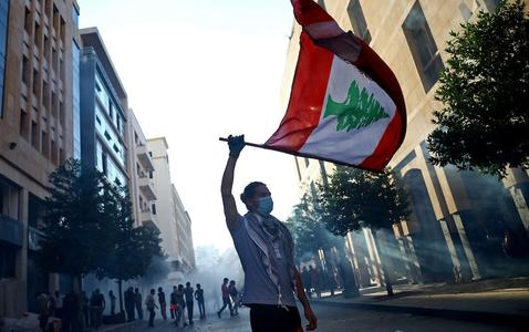 Lebanese PM resigns along with his government over blast fallout