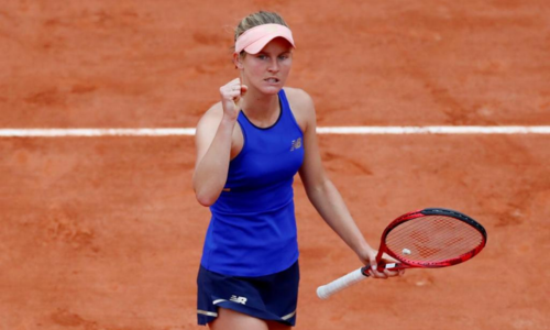 Ferro is the first champion in five months as WTA Tour returns