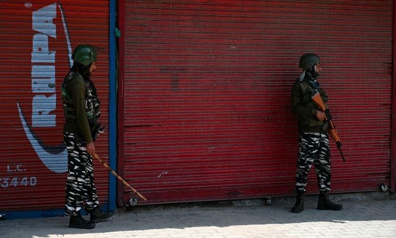 Police in occupied Kashmir probe claims of staged army gunbattle