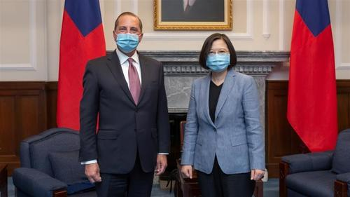چین پر تائیوان کو دوسرا ہانگ کانگ بنانے کا الزام