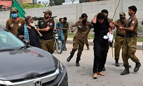 مسلم لیگ (ن) کے کارکنان 14 روزہ عدالتی ریمانڈ پر جیل منتقل