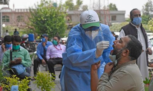 پاکستان میں کورونا وبا کے 711 نئے کیسز کی تصدیق، مزید 12 افراد کا انتقال