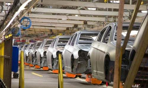 Large-scale manufacturing shrinks 10.17pc in FY20