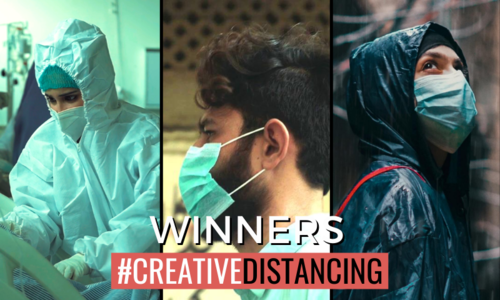 Watch the winning films of the #CreativeDistancing video story contest