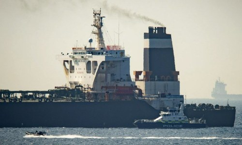 US says Iran briefly seized oil tanker near Strait of Hormuz