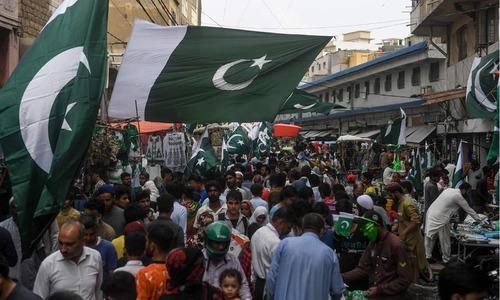 ملک بھر میں جشنِ آزادی کی تیاریاں عروج پر