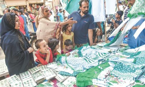 Covid-19 fails to dampen craze for Jashn-i-Azaadi memorabilia