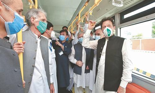 PM inaugurates much-awaited Peshawar BRT project