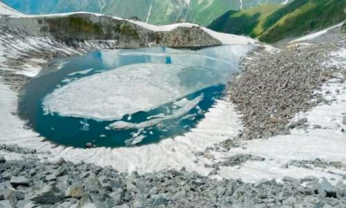 The unexplored Ansoo Lake of Kaghan valley
