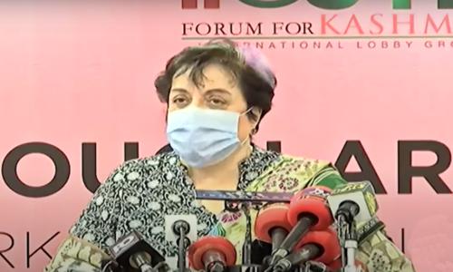 Minister says FO let down Kashmiris