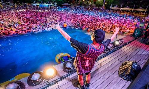 In pictures: Wuhan pool parties bring post-coronavirus relief in China