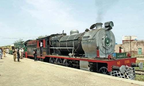 Launch of steam safari train to boost tourism in KP