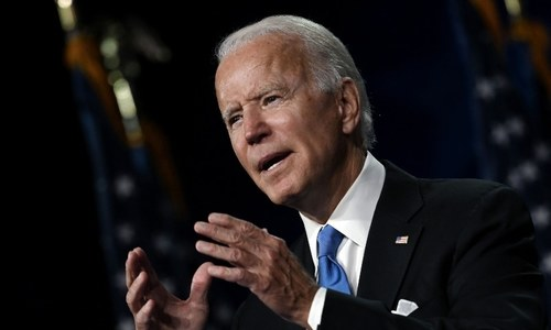 Biden vows to defeat Trump, end US 'season of darkness'