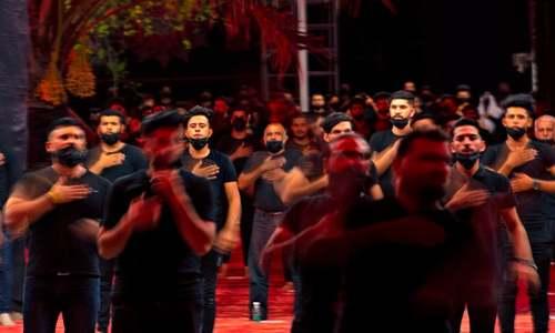 Despite virus, pilgrims pour into Iraq's Karbala ahead of Ashura
