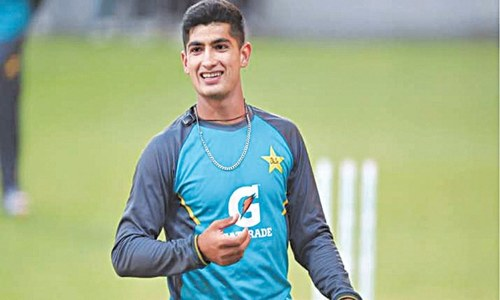 Pakistan shortlist Naseem, Haider for England T20s